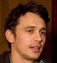 James Franco too scared to go home