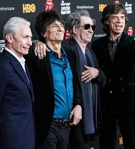 Stars turn out to see Rolling Stones play Brooklyn