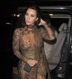 Kim Kardashian: 'I wasn't ready to become a mom when I first fell pregnant'