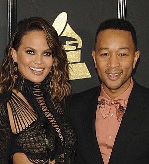 Chrissy Teigen serenades John Legend in sexy Valentine's Day video