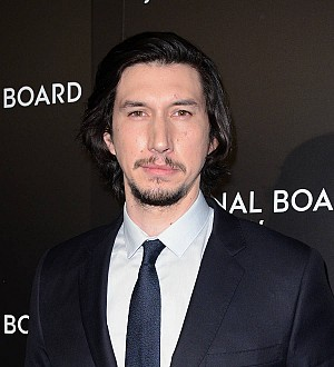 Adam Driver presents military family with scholarship