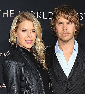 Eric Christian Olsen is a new dad