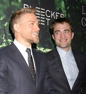 Charlie Hunnam: 'There's no beef between Robert Pattinson and me'