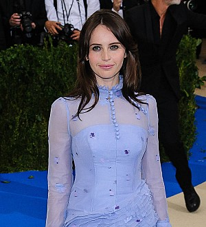 Felicity Jones engaged - report
