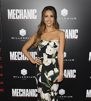 Jessica Alba: 'My daughters will never see me fight training'