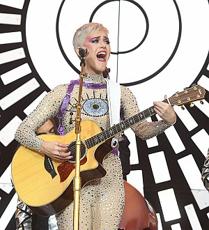 Katy Perry comes up with song ideas in the shower