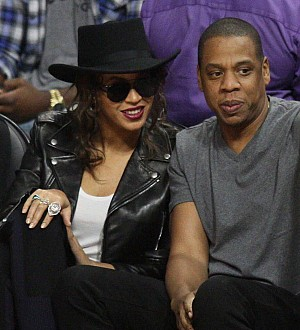 Beyonce and JAY-Z make rare public appearance at Rihanna's Diamond Ball