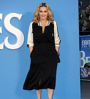 Madonna celebrates adoption of four-year-old twins from Malawi