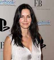 Courteney Cox takes a weekly pee on her balcony