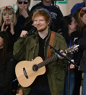Glastonbury gig helps Ed Sheeran reclaim U.K. albums chart crown