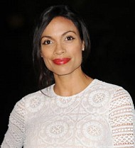 Rosario Dawson learned of estranged father's death from psychic