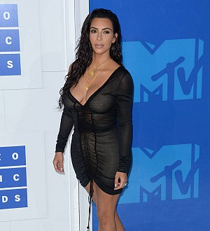 Kim Kardashian briefly returns to social media