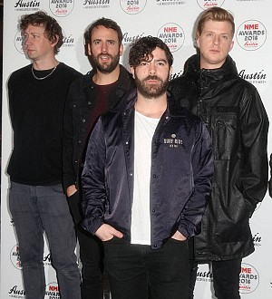 Foals delivered to BRIT Awards by pizza driver