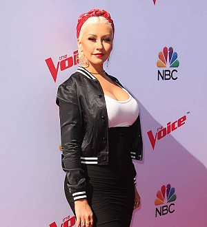 Christina Aguilera: 'My son's going to give me a heart attack!'