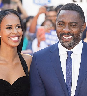 Idris Elba makes new romance red carpet official