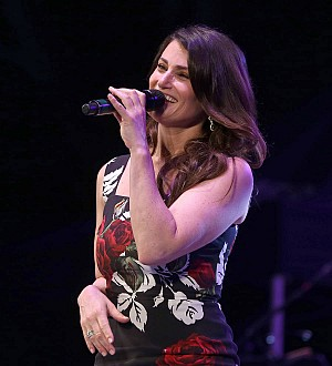 Kelly Clarkson and Idina Menzel got a headstart on Christmas on election night