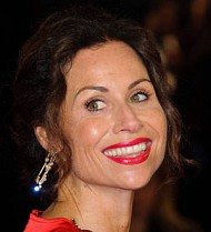 Minnie Driver coos about young son's musical talents