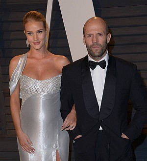 Jason Statham and Rosie Huntington-Whiteley welcome a son
