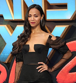 Zoe Saldana was 'stunted out' after Guardians of the Galaxy sequel jumps