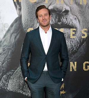 Armie Hammer stole his dad's car at eight years old