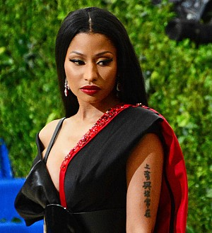 Nicki Minaj brushes off Nas romance rumors