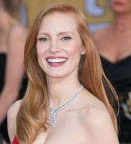 Jessica Chastain's dog interrupts her Broadway show