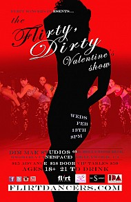 Flirt Dancers Set to Spice Up Your Valentine's Day