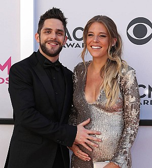Thomas Rhett is a new dad