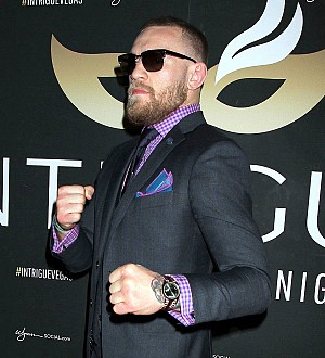 Conor McGregor launches menswear label on the eve of big fight