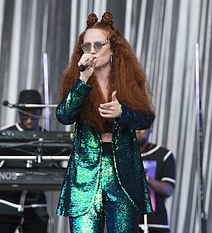 Jess Glynne makes Glastonbury debut after throat surgery