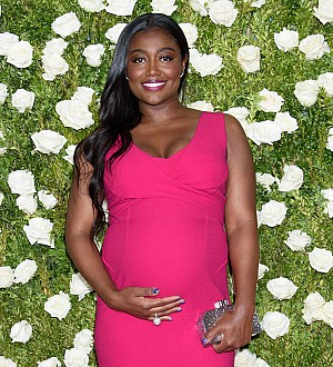 Actress Patina Miller is a first-time mother