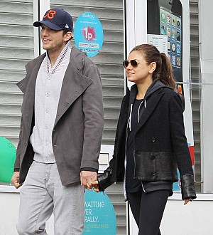 Ashton Kutcher is keen to continue making more babies with Mila Kunis