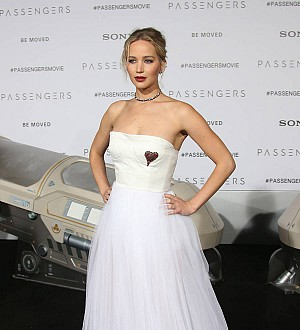 Jennifer Lawrence mastered art of plastering for horror role