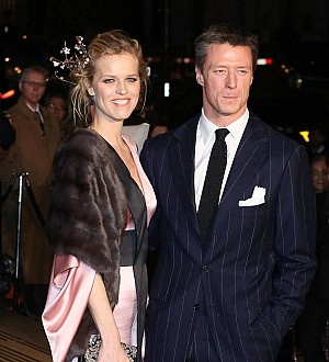 Model Eva Herzigova engaged