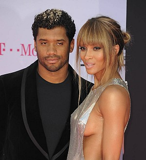 Ciara shares first wedding photo with Russell Wilson