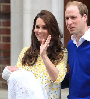 Britain's Princess Charlotte baptized