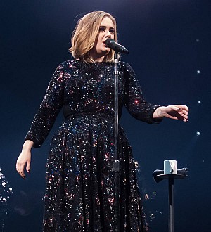 Warmhearted Adele visits terminally ill fan