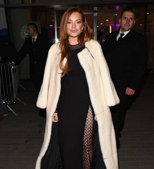 Lindsay Lohan undergoing cryotherapy treatment