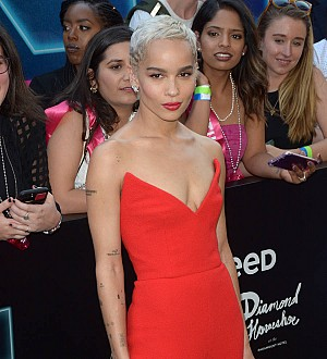 Zoe Kravitz: 'I lived with Nicole Kidman when she was engaged to my dad'