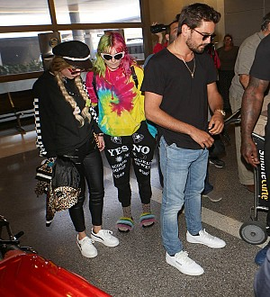 Bella Thorne kisses Scott Disick in Cannes