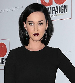 Katy Perry stuns CoverGirl bosses with new black lipstick