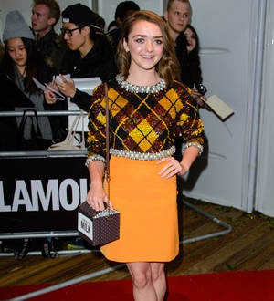 Maisie Williams gives speech on feminism at campaign launch