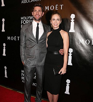 Emily Blunt spooked by shark on honeymoon