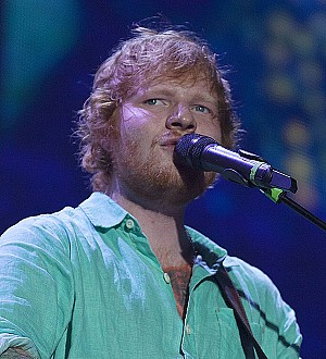 Ed Sheeran joins Snow Patrol stars for family wedding