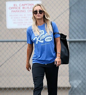 Kaley Cuoco uses an alias for show jumping competitions