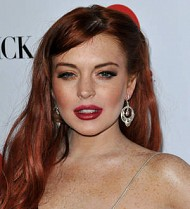 Lindsay Lohan sends bouquet to Charlie Sheen