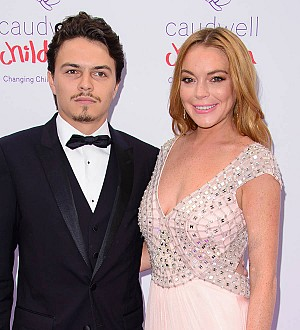 Lindsay Lohan and fiance make their red carpet debut