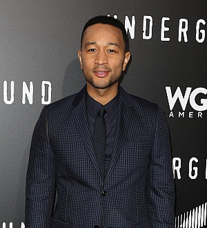 John Legend Surprises Commuters with Impromptu Gig at London Train Station