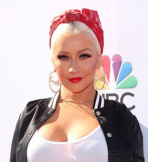 Christina Aguilera shares birthday kiss with Kylie Jenner