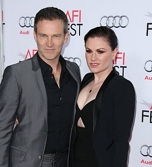 Anna Paquin and Stephen Moyer don't waste time packing before location shoots